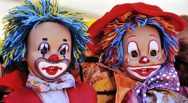 A Right Pair of Clowns