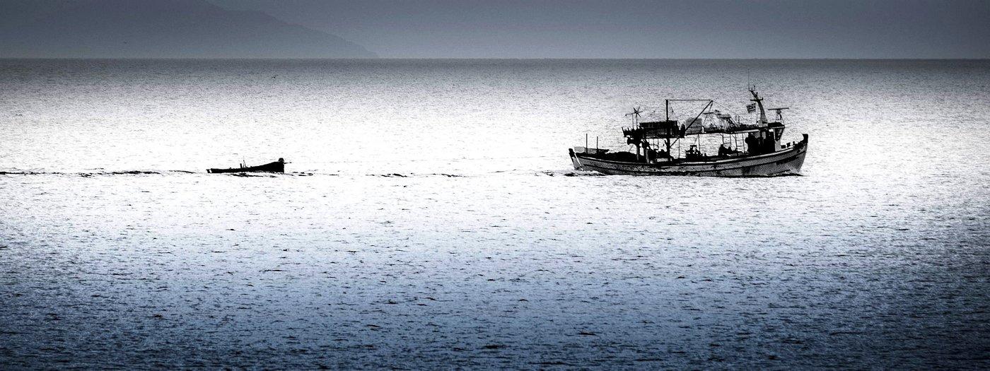 Fishing Boat Kamari