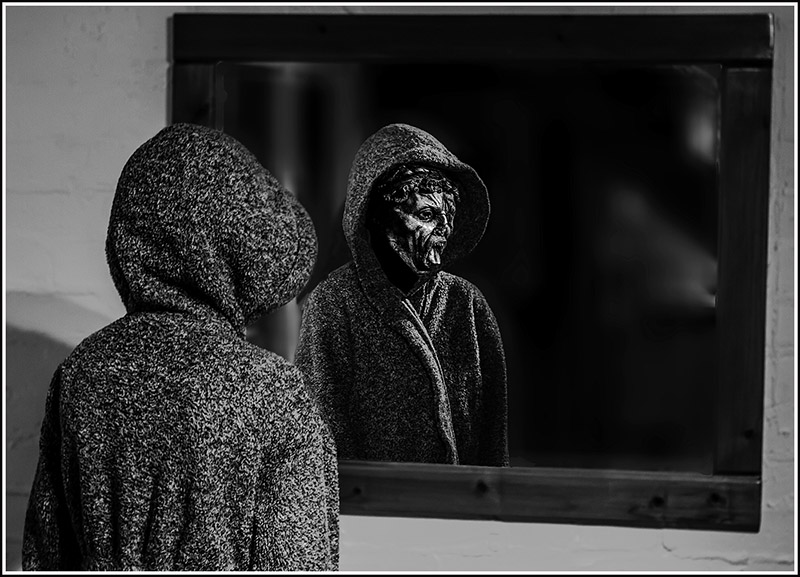 Refections of the Mask