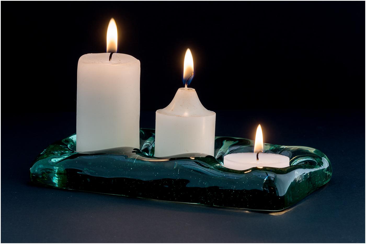 Three candles 52 PRINT